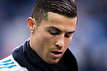 Cristiano Ronaldo of Real Madrid in training prior to the La Liga 2017-18 match between Real Madrid and Sevilla FC at Santiago Bernabeu Stadium on 09 December 2017 in Madrid, Spain. Photo by Diego Souto / Power Sport Images