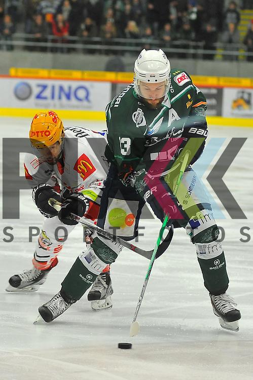 Markus SOMMERFELD (SC Bietigheim Steelers).<br /> <br /> Deutschland, Bietigheim-Bissingenn:  Sport, Eishockey, DEL2 Hauptrund: SC Bietigheim Steelers vs. Fishtowns Pinguins Bremerhaven am 08.01.2016,  EgeTrans Arena.<br /> <br /> Foto &copy; PIX-Sportfotos *** Foto ist honorarpflichtig! *** Auf Anfrage in hoeherer Qualitaet/Aufloesung. Belegexemplar erbeten. Veroeffentlichung ausschliesslich fuer journalistisch-publizistische Zwecke. For editorial use only.