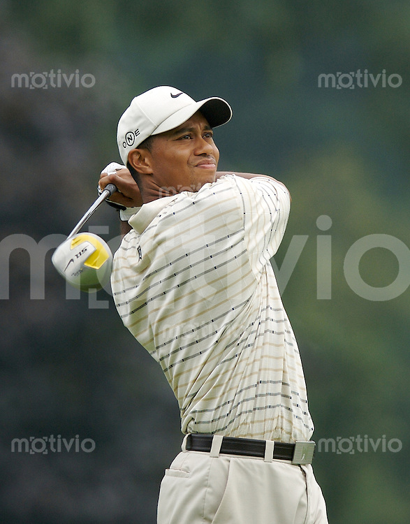 Tiger WOODS (USA) 3.Runde, 88th PGA Championship Golf, Medinah Country Club, IL, USA