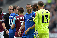 Adrian of West Ham confrontation during West Ham United vs Everton, Premier League Football at The London Stadium on 13th May 2018