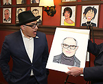 David Yazbek during the Sardi's Portrait unveiling for The Band's Visit composer-lyricist David Yazbek at Sardi's on June 7, 2018 in New York City.