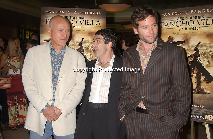"..at the New York Screening of The HBO film "" And Starring ..Pancho Villa As Himself"" on August 18,2003 at the Loew's 34th Street Theatre.  Photo by Robin Platzer, Twin Images"