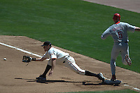 J.T. Snow. Philadelphia Phillies vs San Francisco Giants. San Francisco, CA 8/9/2003 MANDATORY CREDIT: Brad Mangin