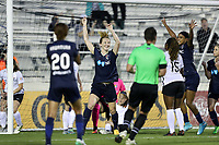 Cary, North Carolina  - Wednesday May 24, 2017: Samantha Mewis during a regular season National Women's Soccer League (NWSL) match between the North Carolina Courage and the Sky Blue FC at Sahlen's Stadium at WakeMed Soccer Park.