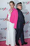 "(L-R) Actors Emma Myles and Lea DeLaria attend The Breast Cancer Research Foundation ""Super Nova"" Hot Pink Party on May 12, 2017 at the Park Avenue Armory in New York City."