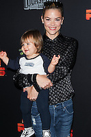 "CENTURY CITY, CA, USA - SEPTEMBER 27: Jaime King, James Knight Newman arrive at the Los Angeles Screening Of Disney XD's ""Star Wars Rebels: Spark Of Rebellion"" held at the AMC Century City 15 Theatre on September 27, 2014 in Century City, California, United States. (Photo by Celebrity Monitor)"