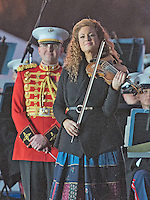 Violinist Miri Ben-Ari Performs at the National Menorah Lighting