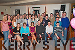 Caroline Healy Killorglin (seated centre) celebrated her 21st birthday with friends and family in the Granary bar Killarney on Friday night   Copyright Kerry's Eye 2008