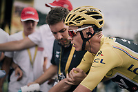 Chris Froome (GBR/SKY) rolling in <br /> <br /> 104th Tour de France 2017<br /> Stage 8 - Dole &rsaquo; Station des Rousses (187km)