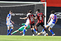 Jefferson Lerma of Bournemouth strikes for the second goal to make the score 2-1 during AFC Bournemouth vs Blackburn Rovers, Sky Bet EFL Championship Football at the Vitality Stadium on 12th September 2020