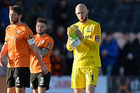 Mark Cousins Of Barnet At the Final Whistle Applause Fan's during Barnet vs Bristol Rovers, Emirates FA Cup Football at the Hive Stadium on 11th November 2018