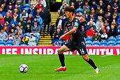 10th September 2017, Turf Moor, Burnley, England; EPL Premier League football, Burnley versus Crystal Palace; Lee Chung-yong of Crystal Palace in possession