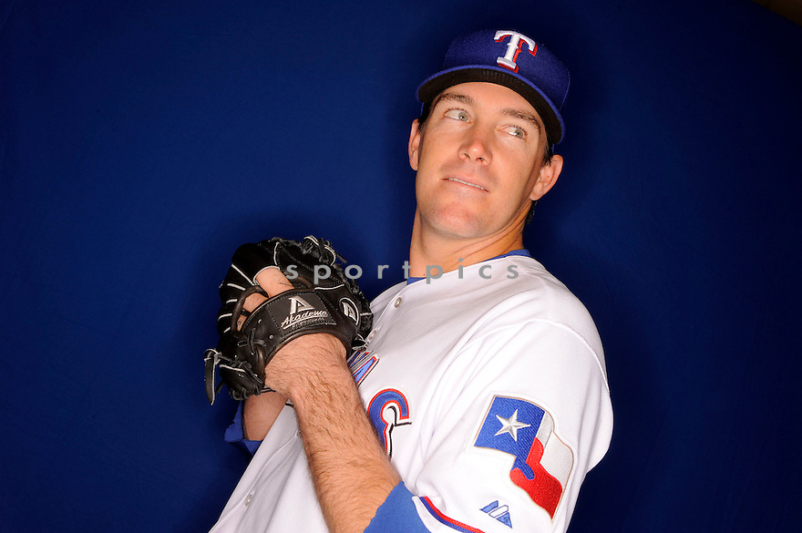 WILLIE EYRE, of the Texas Rangers, during photo day of spring training and the Ranger's training camp in Surprise, Arizona on February 24, 2009.