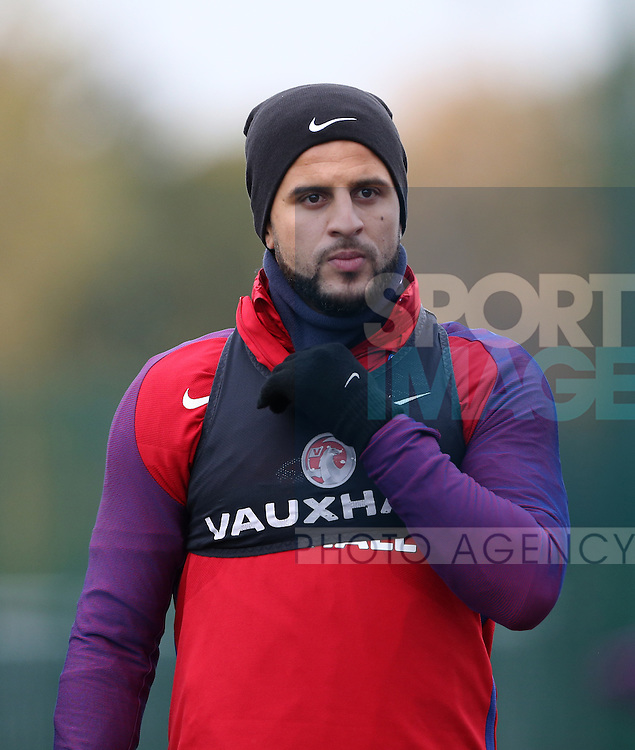 England's Kyle Walker during training at Tottenham Hotspur training centre, London. Picture date November 14th, 2016 Pic David Klein/Sportimage