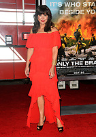 Moniqua Plante at the premiere for &quot;Only The Brave&quot; at the Regency Village Theatre, Westwood. Los Angeles, USA 08 October  2017<br /> Picture: Paul Smith/Featureflash/SilverHub 0208 004 5359 sales@silverhubmedia.com