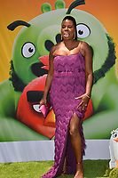 "LOS ANGELES, USA. August 10, 2019: Leslie Jones at the premiere of ""The Angry Birds Movie 2"" at the Regency Village Theatre.<br /> Picture: Paul Smith/Featureflash"