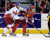 Martin Paryzek (Czech Republic - 6), Sergei Andronov (Russia - 16) - Russia defeated the Czech Republic 5-1 on Friday, January 2, 2009, at Scotiabank Place in Kanata (Ottawa), Ontario, during the 2009 World Junior Championship.