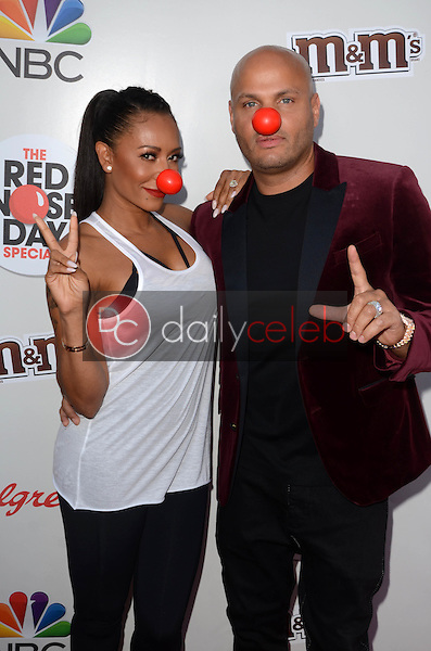 Mel B, Stephen Belafonte<br />