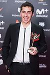Alberto Gutierrez receives the Best Trailer Award during Feroz Awards 2018 at Magarinos Complex in Madrid, Spain. January 22, 2018. (ALTERPHOTOS/Borja B.Hojas)