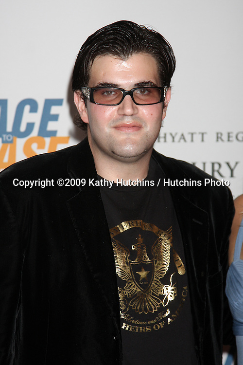 Jason Davis arriving at the Rock to Erase MS Gala at the Century Plaza Hotel in Century Ciy , CA  on May 8, 2009.©2009 Kathy Hutchins / Hutchins Photo....                .