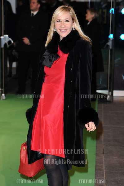 "Tania Bryer arriving for the premiere of ""The Hobbit: An Unexpected Journey"" at the Odeon Leicester Square, London. 12/12/2012 Picture by: Steve Vas / Featureflash"