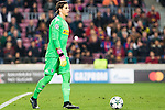 VfL Borussia Monchengladbach's Yann Sommer  during Champions League match between Futbol Club Barcelona and VfL Borussia Mönchengladbach  at Camp Nou Stadium in Barcelona , Spain. December 06, 2016. (ALTERPHOTOS/Rodrigo Jimenez)