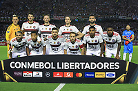 BARRANQUILLA, COLOMBIA - MARCH 04: Flamengo's team mates pose before the group A match of Copa CONMEBOL Libertadores between Junior and Flamengo at Estadio Metropolitano on March 4, 2020 in Barranquilla, Colombia. (Photo by Daniel Munoz/VIEW press via Getty Images)