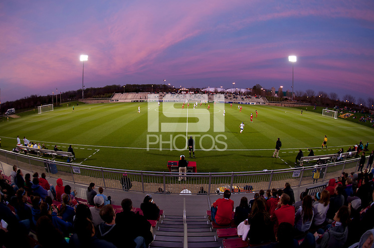 Boyds, MD - April 19, 2014: The Washington Spirit defeated FC Kansas City 3-1 during their NWSL match at the Maryland SoccerPlex.