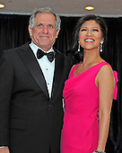 Julie Chen and Les Moonves arrive for the 2013 White House Correspondents Association Annual Dinner at the Washington Hilton Hotel on Saturday, April 27, 2013..Credit: Ron Sachs / CNP.(RESTRICTION: NO New York or New Jersey Newspapers or newspapers within a 75 mile radius of New York City)