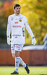 S&ouml;dert&auml;lje 2013-10-06 Fotboll Allsvenskan Syrianska FC - IF Elfsborg :  <br /> Elfsborg m&aring;lvakt 1 Kevin Stuhr-Ellegaard <br /> (Foto: Kenta J&ouml;nsson) Nyckelord:  portr&auml;tt portrait