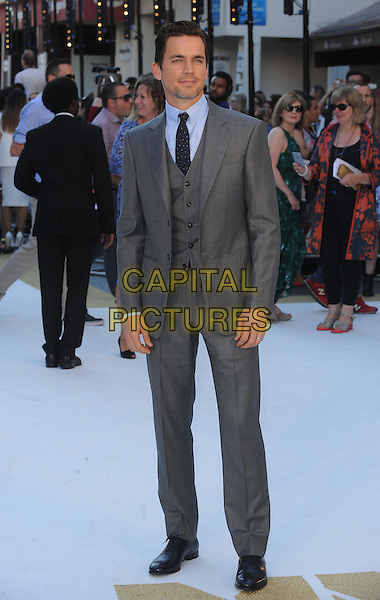 LONDON, ENGLAND - JUNE 30: Matt Bomer attends the European Premiere of Magic Mike XXL at Vue West End on June 30, 2015 in London, England.<br /> CAP/BEL<br /> &copy;Tom Belcher/Capital Pictures
