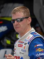 May 4, 2007; Richmond, VA, USA; Nascar Nextel Cup Series driver Jeff Burton (31) during practice for the Jim Stewart 400 at Richmond International Raceway. Mandatory Credit: Mark J. Rebilas