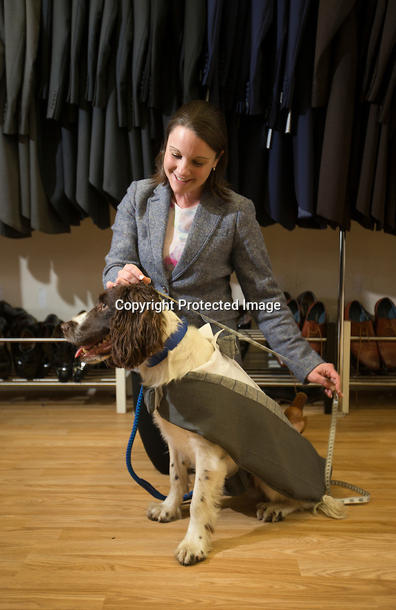 Hannah Lancashire measuring-up Chester.<br />