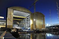 - Viareggio (Toscana), cantiere navale Benetti<br /> <br /> - Viareggio (Tuscany), Benetti shipyard