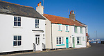 Attractive cottage houses used as holiday homes, Southwold, Suffolk, England