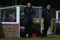 Romford manager Paul Martin during Romford vs Haringey Borough, Bostik League Division 1 North Football at Ship Lane on 8th November 2017