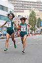 (L-R) Yoko Shibui, Yuki Hidaka  (Mitsui Sumitomo Kaijo), NOVEMBER 3, 2011 - Ekiden : East Japan Industrial Women's Ekiden Race at Saitama, Japan. (Photo by Toshihiro Kitagawa/AFLO)