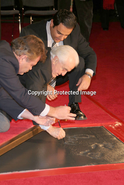 Jack Valenti<br />Grauman&rsquo;s Chinese Theater Handprint and Footprint Ceremony honoring Jack Valenti<br />Grauman&rsquo;s Chinese Theatre<br />Hollywood, CA, USA<br />Monday, December 06th, 2004<br />Photo By Celebrityvibe.com/Photovibe.com, <br />New York, USA, Phone 212 410 5354, <br />email: sales@celebrityvibe.com