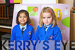 The Junior Infants Class - Ms. Deenihan's Class in the Sacred Heart Primary School (Presentation Primary), Tralee Gabriella Fernandez and Aoife Barrett.