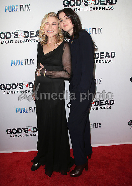"20 March 2018 - Hollywood, California - Tatum O'Neal and Emily McEnroe. ""God's Not Dead: A Light In Darkness"" Premiere held at American Cinematheque Egyptian Theatre. Photo Credit: F. Sadou/AdMedia"