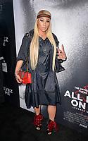 "WESTWOOD, CA - JUNE 14: Hazel E at the ""All Eyez On Me"" Los Angeles Premiere at Westwood Village Theaters in Westwood, California on June 14, 2017. Credit: Koi Sojer/Snap'N U Photos/MediaPunch"