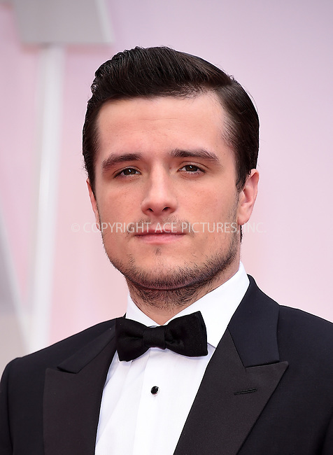 WWW.ACEPIXS.COM<br /> <br /> February 22 2015, LA<br /> <br /> Josh Hutcherson arriving at the 87th Annual Academy Awards at the Hollywood &amp; Highland Center on February 22, 2015 in Hollywood, California.<br /> <br /> By Line: Z15/ACE Pictures<br /> <br /> <br /> ACE Pictures, Inc.<br /> tel: 646 769 0430<br /> Email: info@acepixs.com<br /> www.acepixs.com