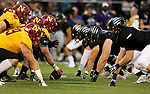 SIOUX FALLS, SD - SEPTEMBER 8: Northern State battles the University of Sioux Falls in the first half of their game Saturday night at Bob Young Field in Sioux Falls. (Photo by Dave Eggen/Inertia)