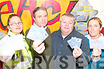 Awareness message: At the launch of the KDYS community drugs initiative drugs awareness beer mats on Wednesday were Garda Raelleen Bell, Ger Lowe (Community Drugs Initiative), and publicans Gerry Behan, Listowel and Maura Hanrahan, Ballybunion.    Copyright Kerry's Eye 2008