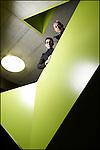 Monthey, le 23 janvier 2013, Le duo d'architectes Geneviève Bonnard et Denis Woeffray anime le paysage romand depuis plus de vingt ans.© sedrik nemeth