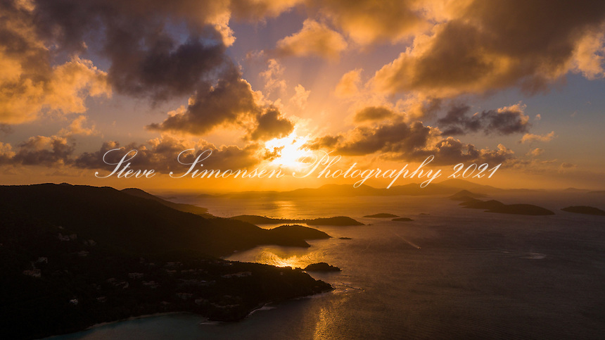 Sunset along the North Shore<br />