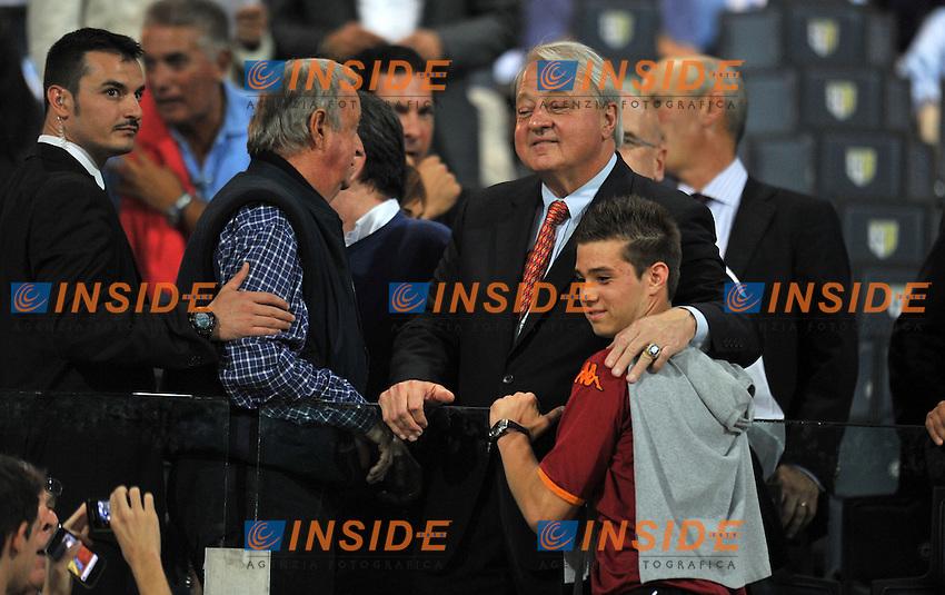 "Thomas DI BENEDETTO (Roma).Parma 25/9/2011 Stadio ""Ennio Tardini"".Serie A 2011/2012.Football Calcio Parma Vs Roma.Foto Insidefoto Alessandro Sabattini."