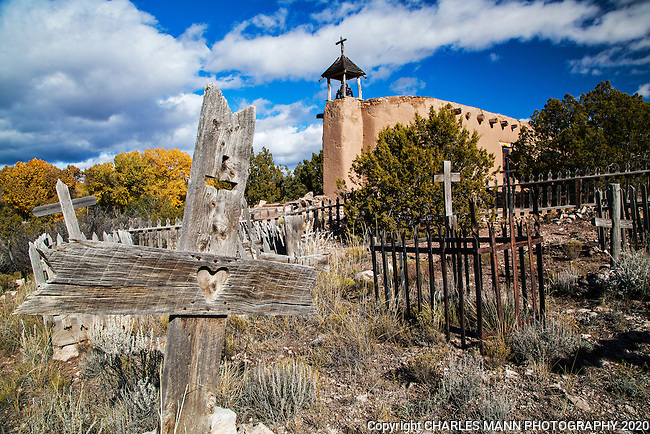 Rancho de Las Golondrinas is a nationally recognized historic museum and landmark on the old Spanish road called the Caimno Royale and features a replica of a morada, a small Spanish Catholic chapel once used by the Catholic sect called the Penitentes.