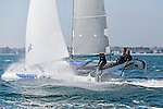 Diam 24 One Design, light, sporty, powerful, winged and designed to race with three or four people on board. The Diam 24OD is fast in light winds and confident in stronger breeze without the necessity for high level sporting prowess. The Diam 24 the new boat for the Tour de France à la Voile 2015.<br /> Macif, Skipper François Gabart