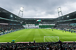 10.02.2019, Weserstadion, Bremen, GER, 1.FBL, Werder Bremen vs FC Augsburg<br /> <br /> DFL REGULATIONS PROHIBIT ANY USE OF PHOTOGRAPHS AS IMAGE SEQUENCES AND/OR QUASI-VIDEO.<br /> <br /> im Bild / picture shows<br /> Choreo in der Ostkurve des Weserstadion vor Spielbeginn zu Ehren des 120-jährigen Vereinsjubiläums, <br /> <br /> Foto © nordphoto / Ewert
